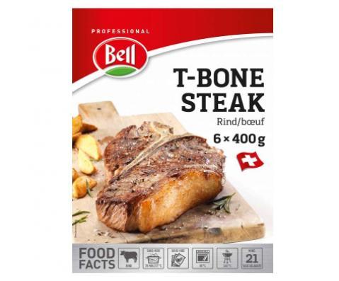 T-Bone Steak Packshot