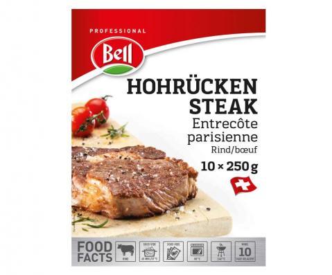 Hohrücken Steak Packshot